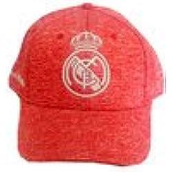 Gorra Oficial Real Madrid CF Rosa Jaspeado Adulto