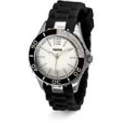 Yema ymhf1141-Montre bracelet pour femme, bracelet en silicone noir