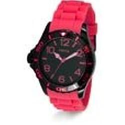 Yema ymhf1201-Montre de Poignet pour homme, bracelet en silicone rose