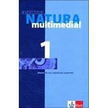 Natura multimedial, 1 CD-ROM Medien für den interaktiven Unterricht. 5./6. Klasse. Einzellizenz. Für Windows oder Mac OS 9.x. Passend zum Schulbuch 'Natura 1' in den Jahrgangsstufen 5 und 6