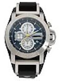9ed2f1458189 Fossil correa de reloj JR-1156 Piel Negro 24mm(Sólo reloj correa - RELOJ