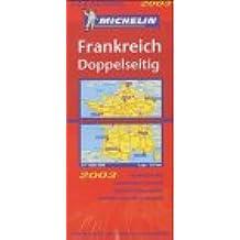 Michelin Karten, Bl.722 : Frankreich, doppelseitig (Michelin Country Maps)