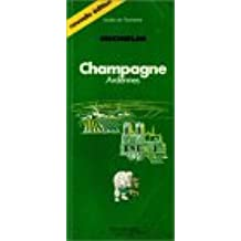 Guide de tourisme Michelin vert : Nouvelle édition n° 1 : Champagne Ardennes de 1985