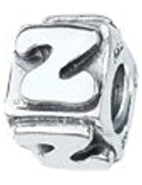 Amore & Baci .925letra de plata Z Bead Charm