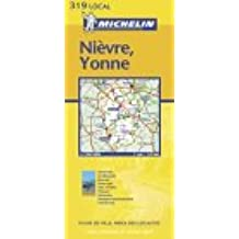 Carte routière : Nièvre - Yonne, N° 11319