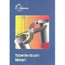 Tabellenbuch Metall (mit Formelsammlung)