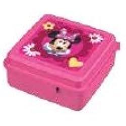 GIRM® B127807 Portamerenda BBS MINNIE Porta merenda in plastica per la pappa dei bambini !. Stoviglie per bambini in plastica lavabile in lavastoviglie