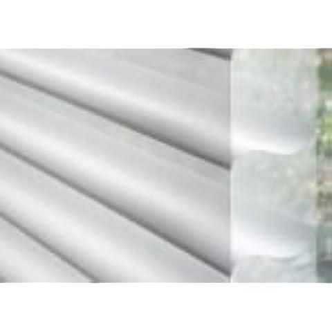 Silhouette Rullo con lato veneziana beige/crema larghezza 150cm x lunghezza 250cm con catena e chiuso (Veneziana Catena)