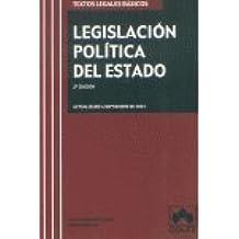 Legislación política del Estado