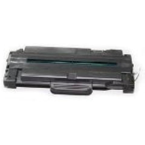 Bramacartuchos - Tóner compatible con Samsung ML-1910, ML 1915, ML 2525, ML 2525W, ML 2580, SCX 4600, SCX 4623F, SCX 4623FN, SCX 4623,SF650 Ml1910 D1052L REF ORIGINAL MLT-D1052L/ELS- NON-OEM 2500 copias
