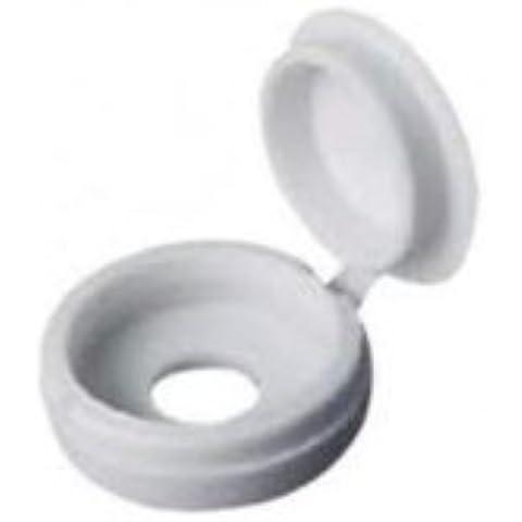 (Johny's Wares) COPERTURA IN PLASTICA CON TAPPO PER VITI (10 pezzi a confezione)