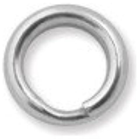 6 mm Plata Esterlina anillo partido cablefinder 1