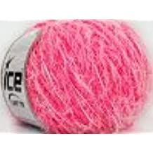 Ice Yarns Azalea Pink White/50 G di 55 m/Das Original in Turkey