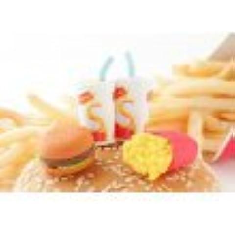 Iwako giapponesi Cancellatori - Fast food Hamburger