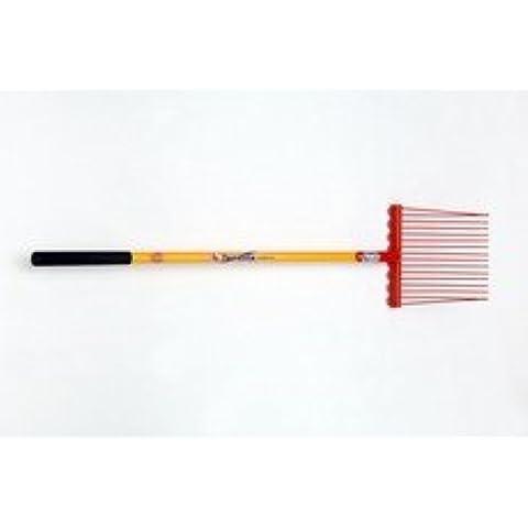 Fyna-Lite Super Lite rastrillo (mango de fibra de vidrio)