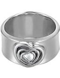 Esprit - ESRG91689A - Love at Heart - Bague Femme - Argent 925/1000 8.3 gr - Cristal - Oxyde de zirconium - Blanc