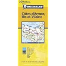 Michelin France, C?te-D'Armor, Ille-Et-Vilaine Map No. 309 by Michelin Travel Publications (May 19,2002)