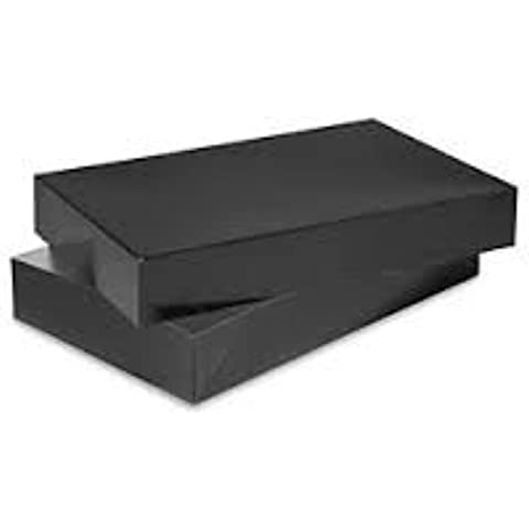 Men Shirt Box Women Top Box Gift Boxes Wrap Boxes Apparel Gift Boxes with lids Black Color by