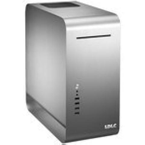 Caja de ordenador PC-LDLC plata MX-1-Caja tamaño mediano, aluminio () sin fuente de alimentación