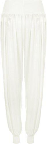WearAll - Pantalon 'harem' bouffant - Pantalons - Femmes - Tailles 36 à 42 Crème