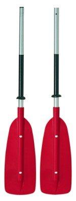 Bravo DPR 107 / C - Aluminium Doppelpaddel asymmetrisch zerlegbar, Länge:230cm
