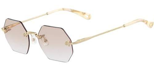 Chloé Brillen CE2146 GOLD/LIGHT GREY SHADED Damenbrillen
