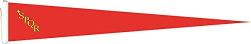 Haute Qualité pour U24 Long Fanion Rome drapeau 250 x 40 cm