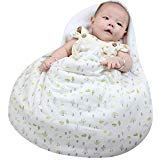 Sac de couchage Kakiblin pour bébé, couverture de bébé, sac de couchage anti-coups de pied pour 0-6 mois, emmaillotage pour poussette, style œuf