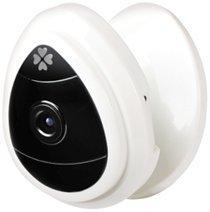 NexGadget Mini Videocamera di Sorveglianza Wifi IP Camera 1280x720p Rilevatore di Movimenti Suoni di Allarme Notifiche Push Visualizzazione da Remoto Equipaggiato Microfono di Rete