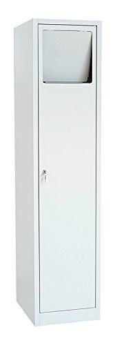 XXL Stahl Wäscheschrank Wäsche Sammelschrank Wäschesammelschrank 180x60x50 526520