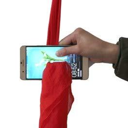 Cilindro magico foulard attraverso cellulare, giochi di prestigio,trucchi magia