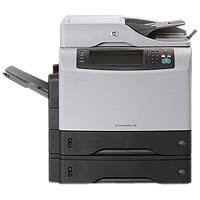 Hewlett Packard - HP LaserJet M4345x MFP - Multifunction ( fax copier printer scanner ) - B W - laser - copying (up to): 43 ppm - printing (up to): 43 ppm - 1100 sheets - 33.6 Kbps - Hi-Speed USB, 10 100 Base-TX