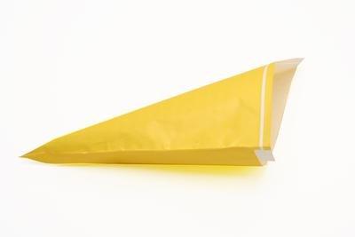 Preisvergleich Produktbild 1000 Spitztüten gelb 19cm für 125g Papiertüten Tüten für Süssigkeiten