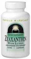 Source Naturals Zeaxanthin With Lutein Capsules, 30 Caps from Source Naturals