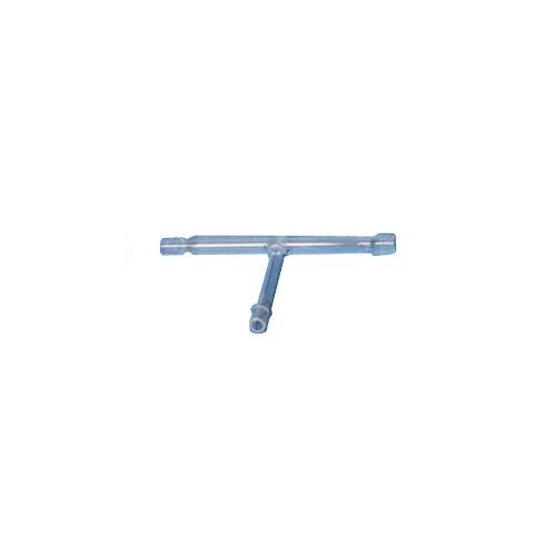 GSC International 2003–2überleitschlauch mit-T-Glas Schlauchanschluss, 3/20,3cm (10) Arm Länge -