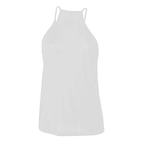 Bella+Canvas Damen Tank-Top (S) (Weiß)