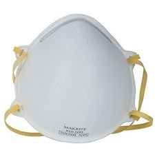 Swine flu mask (Dust Respirator Mask) N95 N 95 (1 piece)  available at amazon for Rs.149