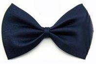 Doggie Style Store Navy Blue Dark Oxford Dicky Bow Tie Dog Cat Puppy Kitten Pet Wedding Tuxedo Bowtie Neck Collar