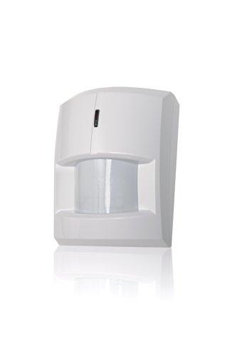 Détecteur de Mouvement sans Fil Blaupunkt IR-S1L pour systèmes d'alarme Radio-commandés, Blanc, 251615