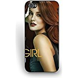 (Coque iPhone 5/5S) Cas pour Women,Cool Design Coque iPhone 5/5S Cas Gossip Girl Movie Quotes Hard Back Particular U2O2Dg