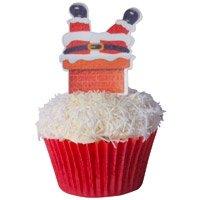 Muffin einstecker Père Noël