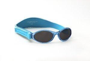 Baby Banz Baby Jungen (0-24 Monate) Sonnenbrille aqua Baby