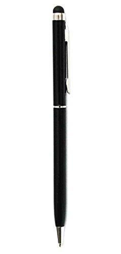 C63 Stylus-Eingabestift für Touchscreens und Kugelschreiber in einem, Stift mit 2 Funktionen, verwendbar mit allen Mobiltelefonen
