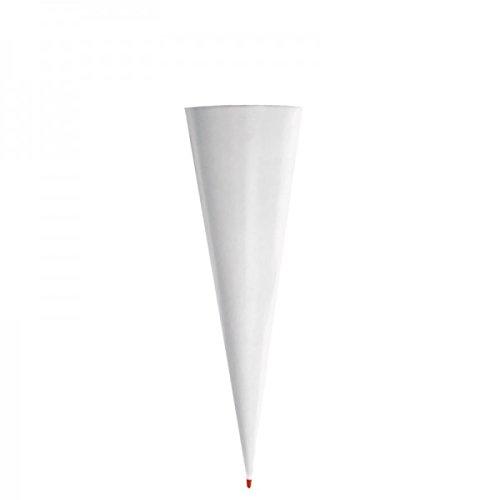 ROTH Schultüten-Rohling, rund, 70 cm, grau