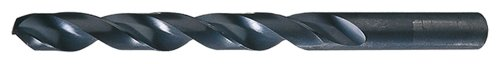 cle-line c23182schwere Bohrer, Länge, High Speed Stahl, Dampf-Oxid Finish, Zylinderschaft, Vdeo Split Point, Draht Größe 32(12Stück) -