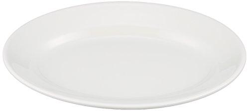 Saturnia Tivoli Plateau Ovale, 28 cm, Blanc