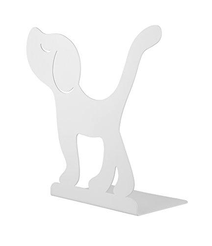 Alessi Montparnasse Buchträger, Bianco, 24x11x23 cm