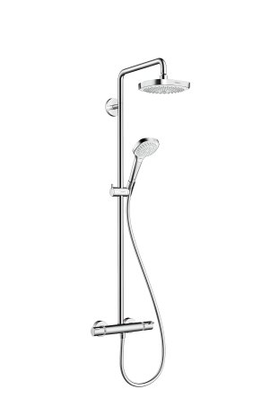 hansgrohe-croma-select-e-180-duschsystem-4-strahlarten-wei-chrom