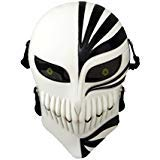 cctro Softair Totenkopf-Maske, Full Face Schutzhülle Tactical Masken Gear für Airsoft Paintball Outdoor CS Krieg Spiel BB Gun Cool Scary Ghost Halloween Party Maske, schwarz/weiß