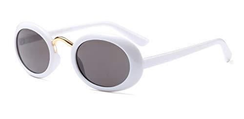 GFF Trendy Hip Hop Oval Sonnenbrille Männer Frauen Kleine Rahmen Marke Brille Designer Mode Männlich Weiblich 45372